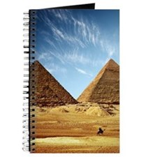Egyptian Pyramids and Camel Journal