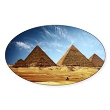 Egyptian Pyramids and Camel Decal