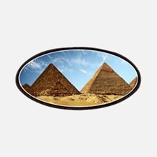 Egyptian Pyramids and Camel Patch