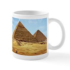 Egyptian Pyramids and Camel Mugs