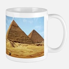 Egyptian Pyramids and Camel Mugs