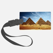 Egyptian Pyramids and Camel Luggage Tag