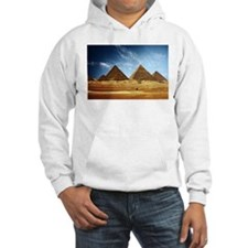 Egyptian Pyramids and Camel Hoodie