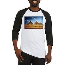 Egyptian Pyramids and Camel Baseball Jersey
