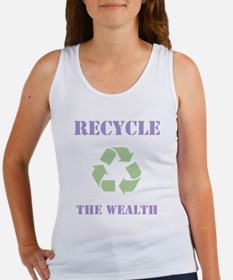 Recycle the Wealth Women's Tank Top