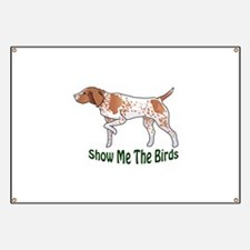SHOW ME THE BIRDS Banner