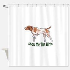 german wirehaired pointer shower curtains german wirehaired pointer fabric. Black Bedroom Furniture Sets. Home Design Ideas