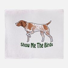 SHOW ME THE BIRDS Throw Blanket