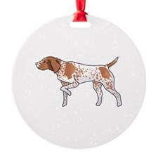 GERMAN POINTER Ornament