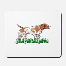GERMAN POINTER IN GRASS Mousepad