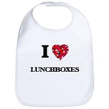 I Love Lunchboxes Bib