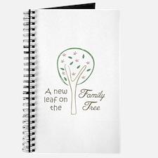 NEW LEAF ON TREE Journal