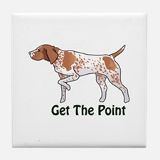 GET THE POINT Tile Coaster