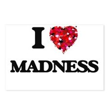 I Love Madness Postcards (Package of 8)