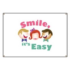 Smile Its Easy Banner