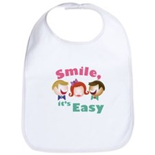 Smile Its Easy Bib