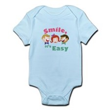 Smile Its Easy Body Suit