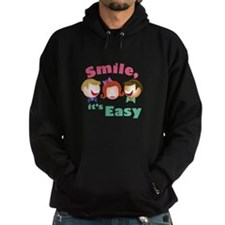 Smile Its Easy Hoodie
