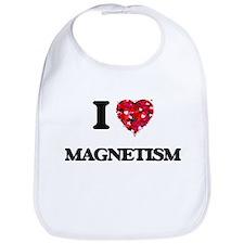 I Love Magnetism Bib