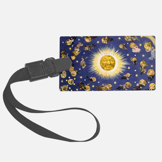 New York's new solar system Vint Luggage Tag