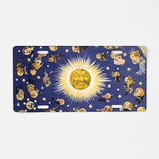 New York's new solar system Aluminum License Plate