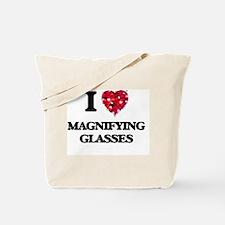 I Love Magnifying Glasses Tote Bag