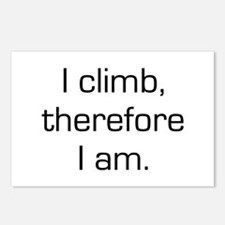 I Climb Therefore I Am Postcards (Package of 8)