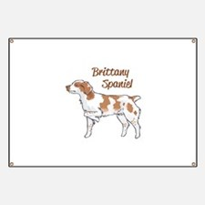 BRITTANY SPANIEL Banner