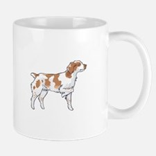 BRITTANY SPANIEL ON POINT Mugs