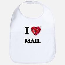 I Love Mail Bib
