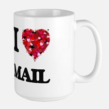 I Love Mail Mugs