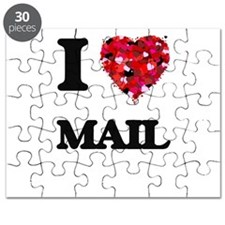 I Love Mail Puzzle