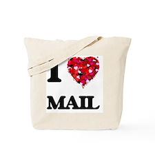 I Love Mail Tote Bag