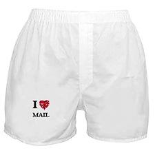 I Love Mail Boxer Shorts