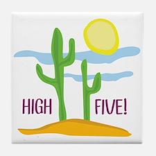 High Five! Tile Coaster