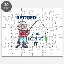 RETIRED AND LOVING IT Puzzle