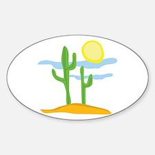 Desert Cactus Decal