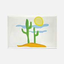 Desert Cactus Magnets
