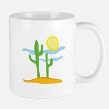 Desert Cactus Mugs