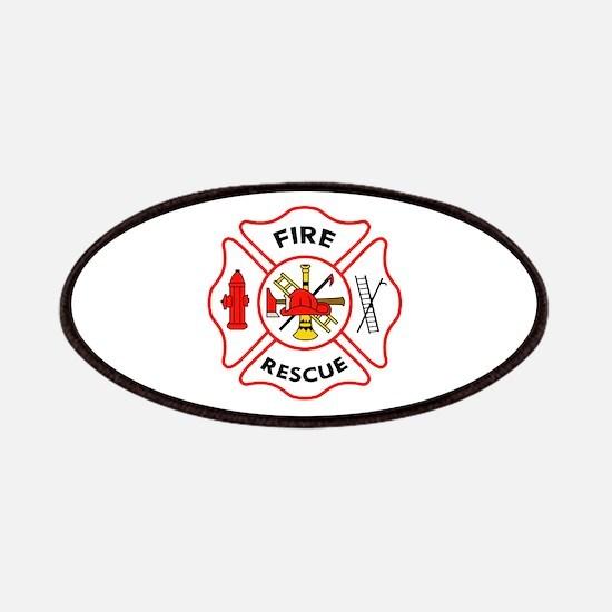 MALTESE CROSS FIRE RESCUE Patch