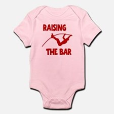 POLE VAULTING Infant Bodysuit