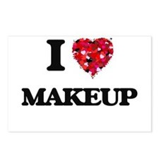I love Makeup Postcards (Package of 8)