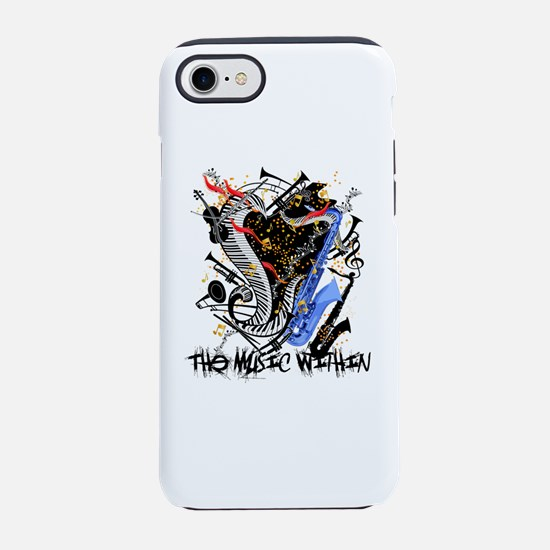 Musical Instruments Band Col iPhone 8/7 Tough Case