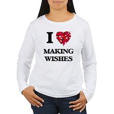 I love Making Wishes Long Sleeve T-Shirt