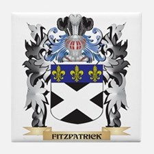 Fitzpatrick Coat of Arms - Family Cre Tile Coaster