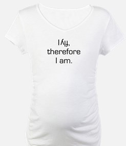 I Fly Inverted Therefore I Am Shirt