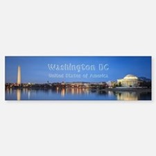 Washington DC Bumper Bumper Sticker