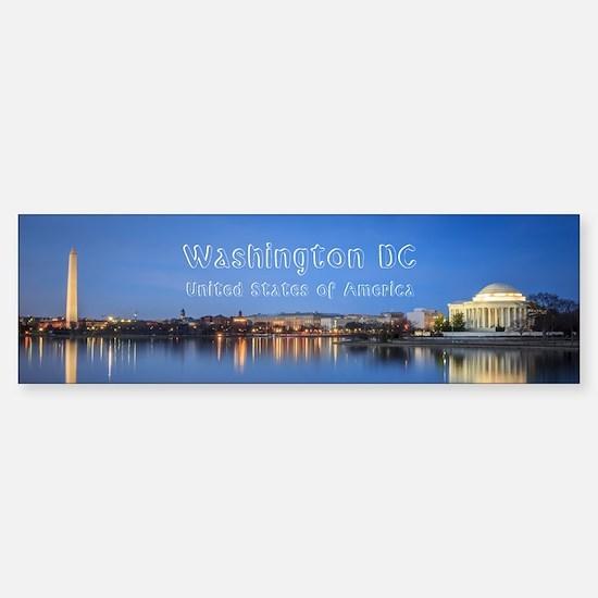 Washington DC Sticker (Bumper)