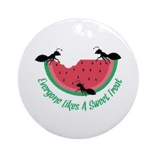 Sweet Treat Ornament (Round)