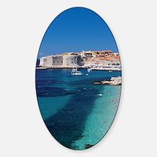 Croatia by the Beach  Decal